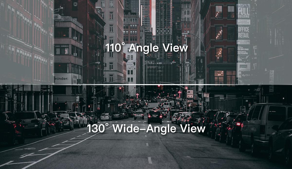 70mai Smart Dash Cam 1S a 130° úhel záběru